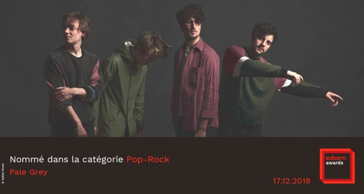 Pale Grey gagne le Sabam Awards de la catégorie pop-rock