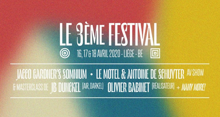 Early Birds 3ème Festival – Disponibles dès maintenant!
